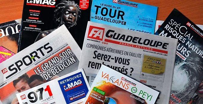 Médias: L'audience sur l'avenir de France-Antilles renvoyée au 14 janvier