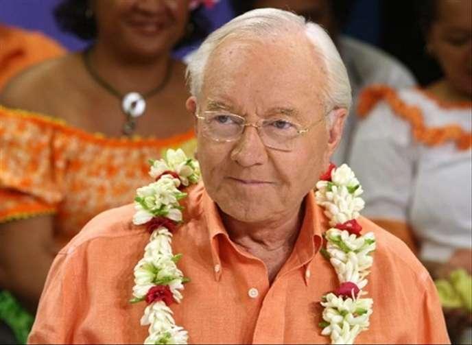 Municipales 2020 : En Polynésie, Gaston Flosse se lance à Papeete