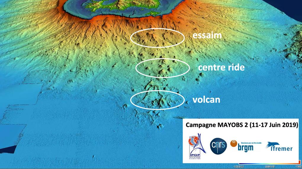 Selon le CNRS, le volcan sous-marin au large de Mayotte provient d'un réservoir de magma très profond