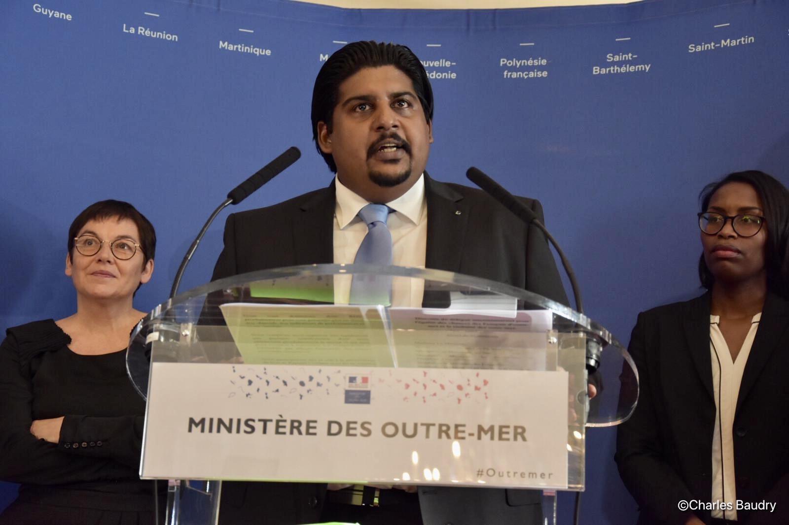 Mael Disa prend la Délégation interministérielle à l'Égalité des chances et de la visibilité des Outre-mer