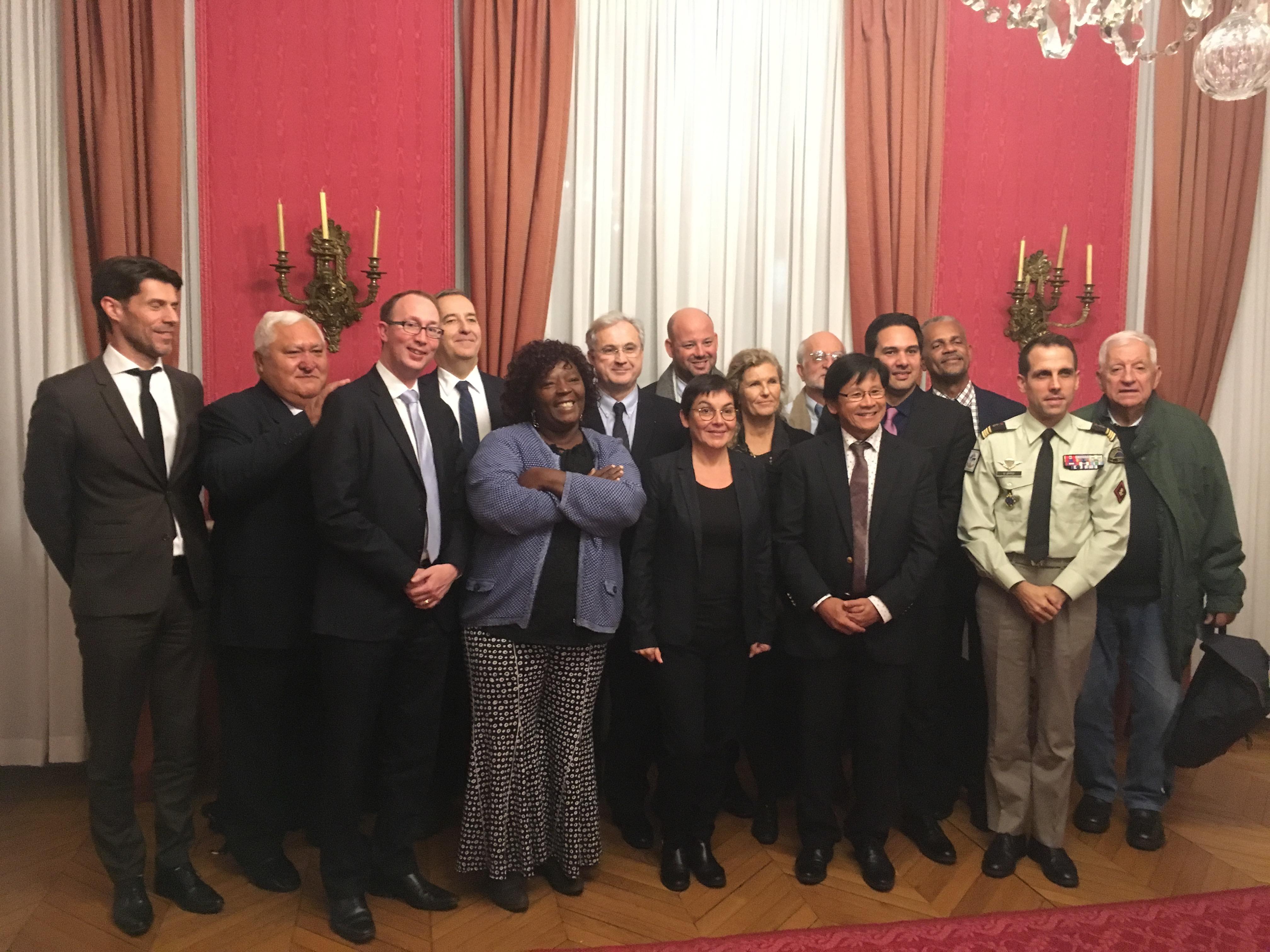 Clôture de la réunion annuelle du Comite France maritime en décembre 2019 ©DR