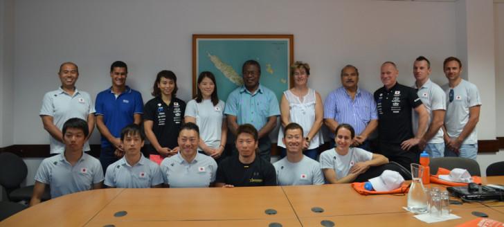 JO – Tokyo2020 : L'équipe japonaise de Cyclisme sur piste s'entraîne en Nouvelle-Calédonie