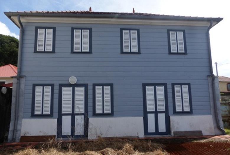 La Maison Taïlamé au Carbet inscrit aux Monuments Historiques ©Cap Nord