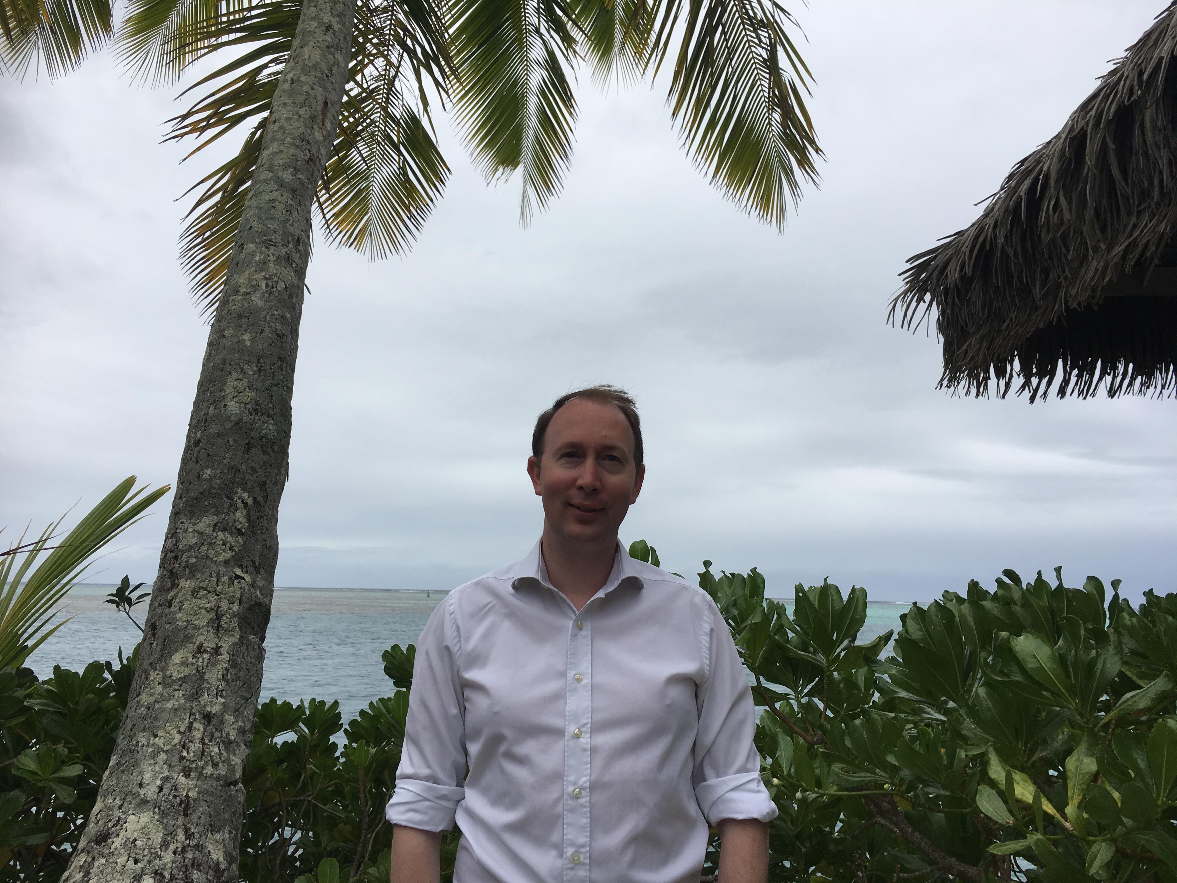 en mission en Polynésie française