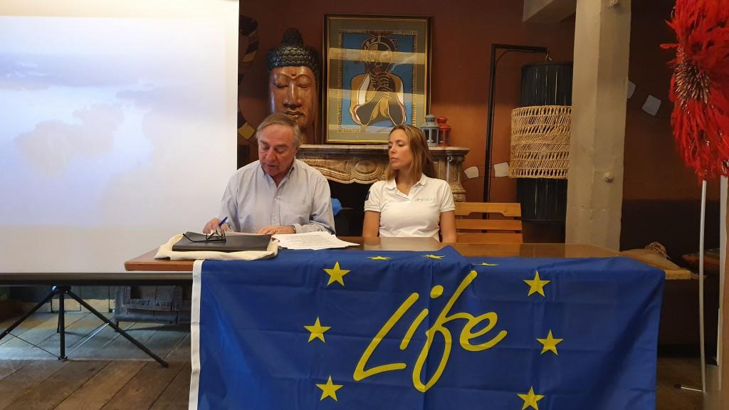 La ligue de protection des oiseaux, présidée par Allain Bougrain- Dubourg, coordonne le projet Life Biodiv'OM