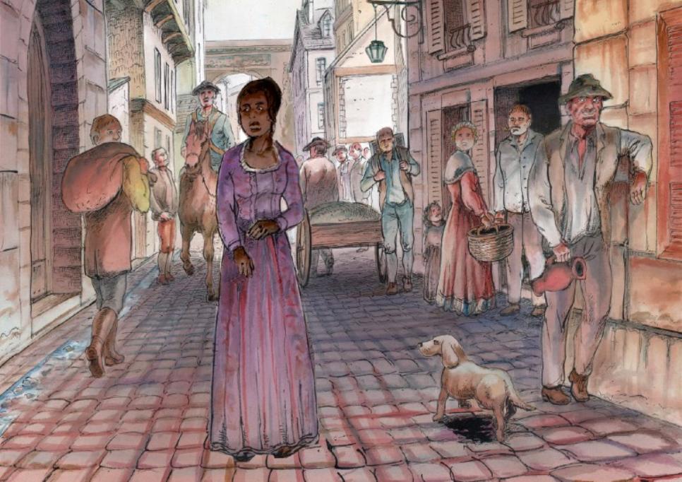 Livre Paris : Grain de liberté, une BD sur l'esclavage à Paris avant la Révolution Française au Pavillon des Outre-mer