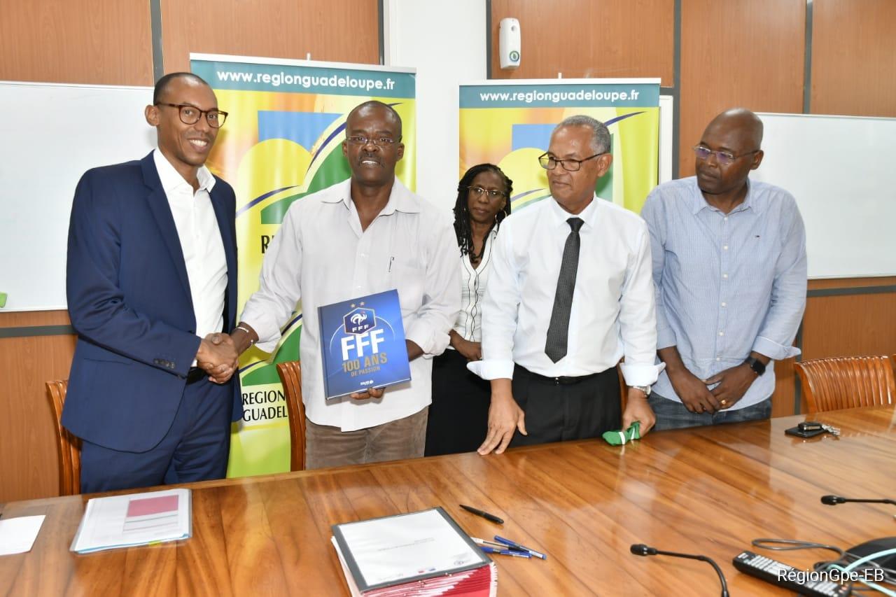 Football : La Guadeloupe met en place un Centre Elite des Régions Françaises