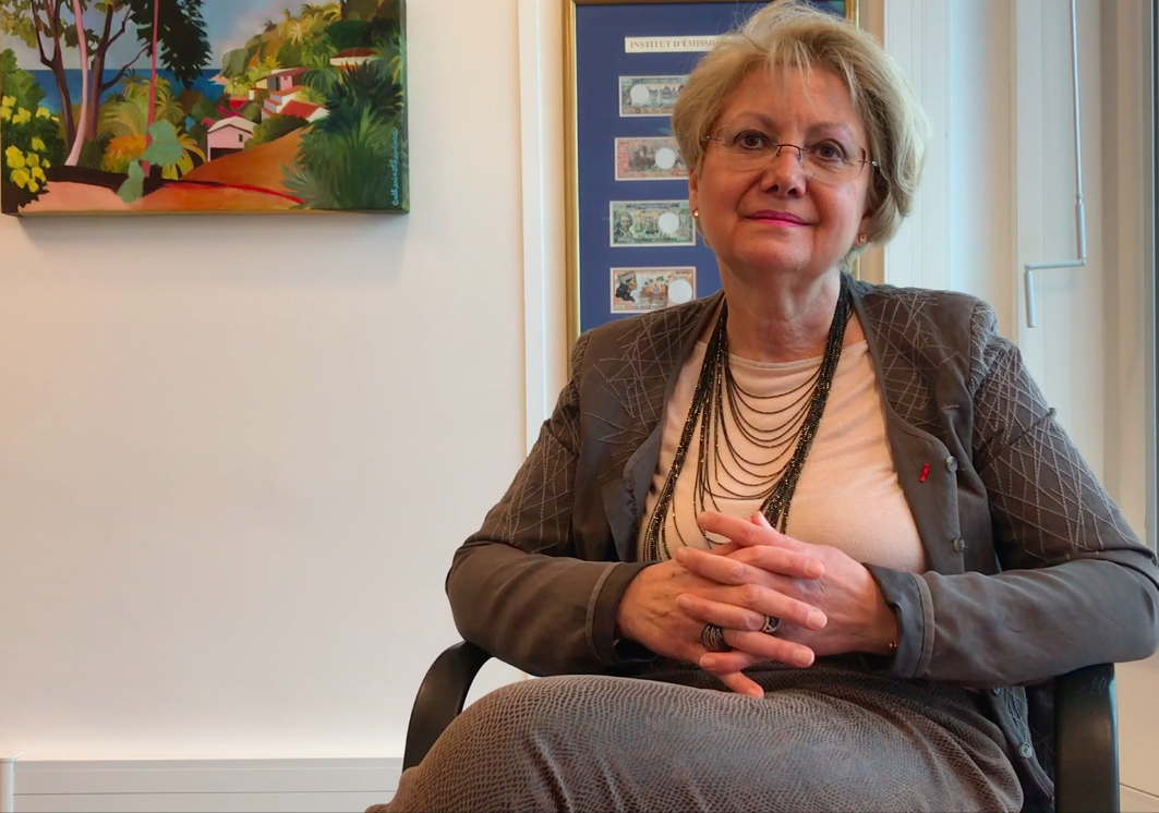 Marie-Anne Poussin-Delmas, Directrice générale de l'IEOM ©Outremers360