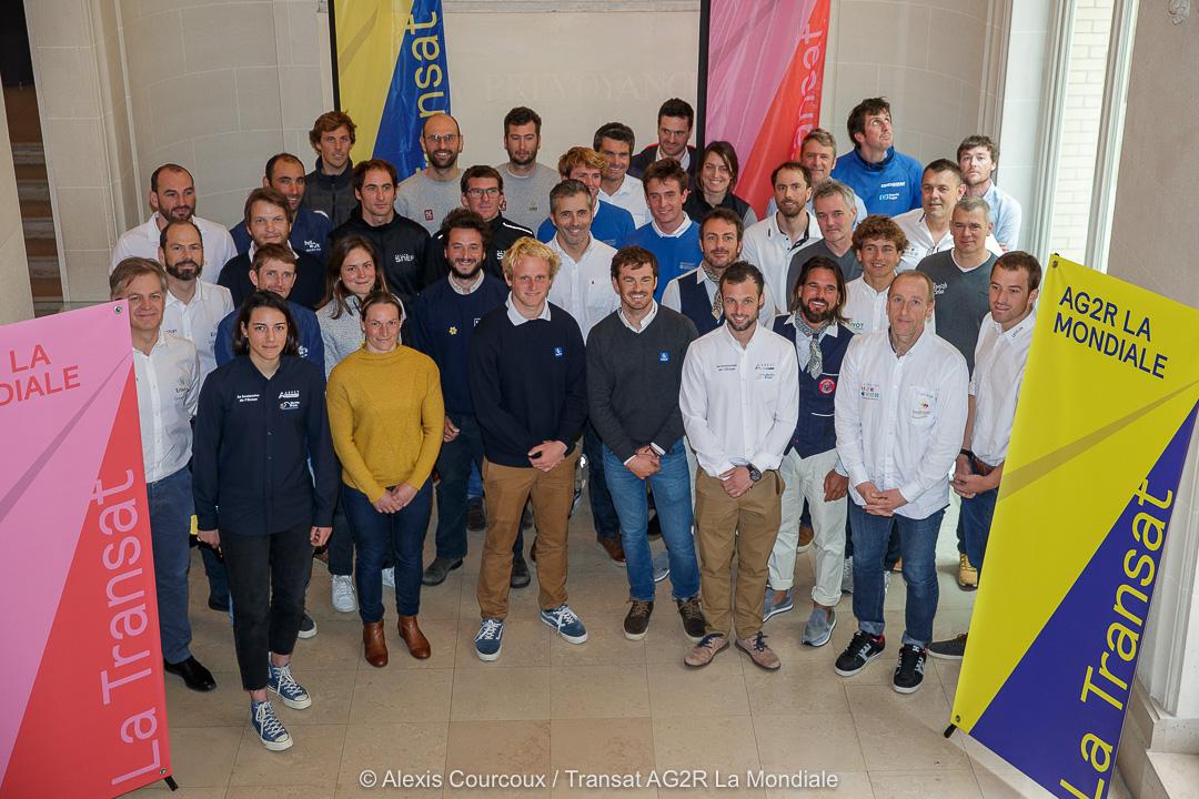 Voile -Transat AG2R La Mondiale : 22 duos pour relier Concarneau à Gustavia