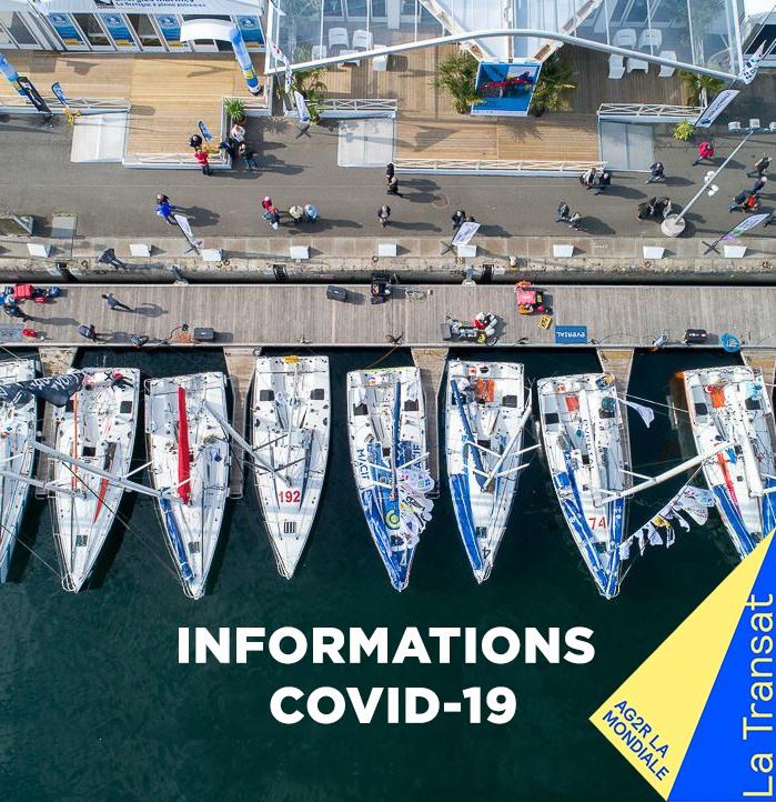 Covid-19 : La Transat AG2R – La Mondiale est reportée à une date ultérieure