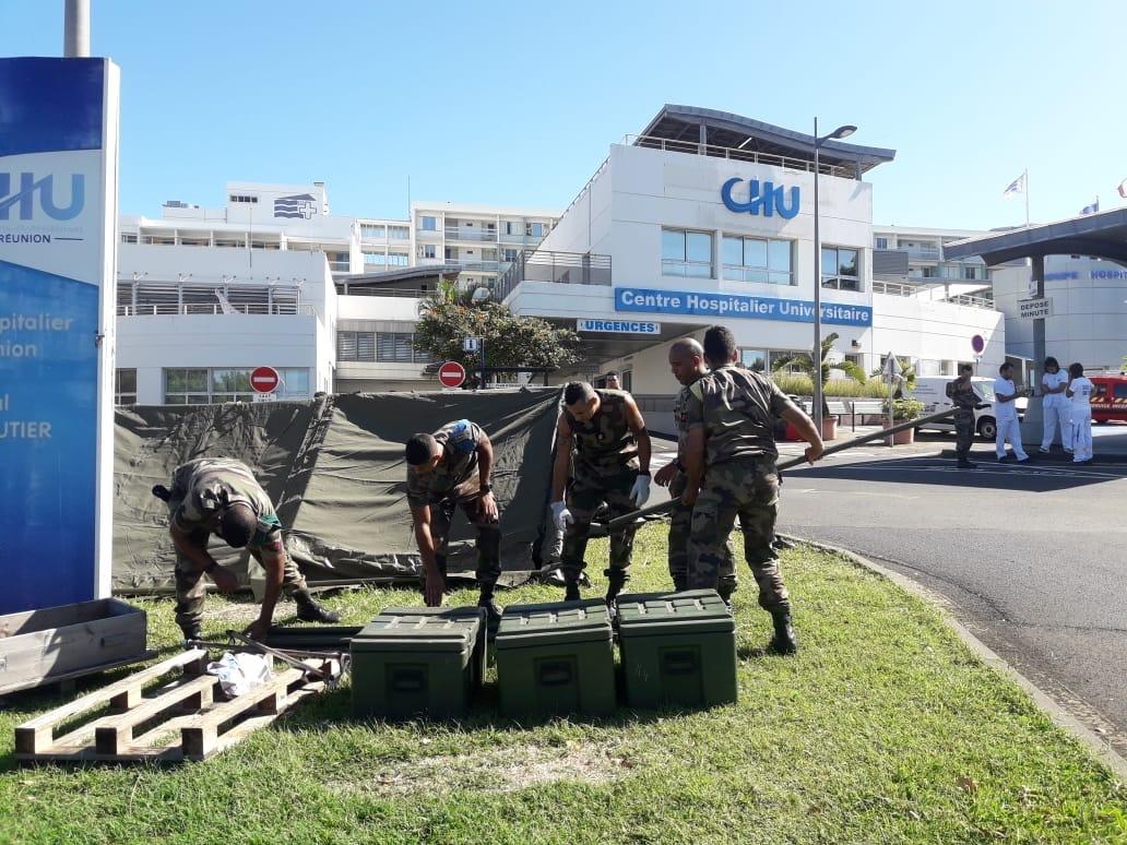 Face au coronavirus, les SMA des Outre-mer mobilisés pour leurs territoires