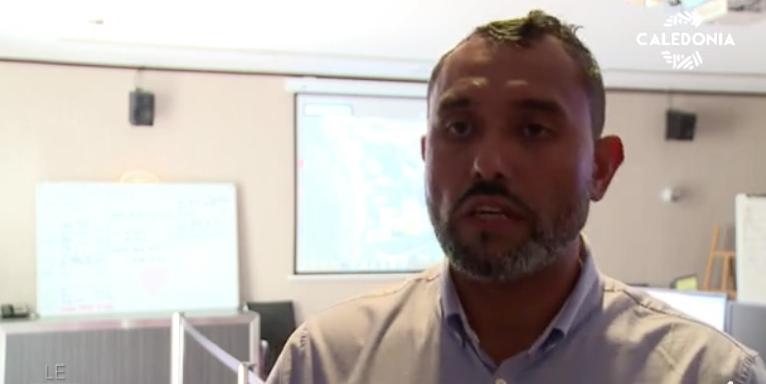 Georges Selefen, chef du centre opérationnel de la cellule de rapatriement © Caledonia  TV