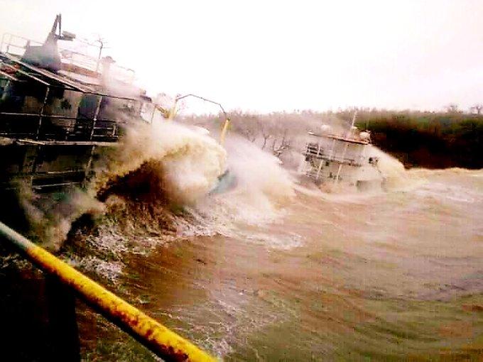Le cyclone Harold, « monstre de puissance », quitte lentement le Vanuatu pour les îles Fidji
