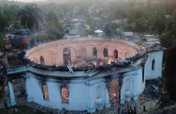 Haïti : La Chapelle royale de Milot, classée à l'UNESCO, ravagée par un incendie