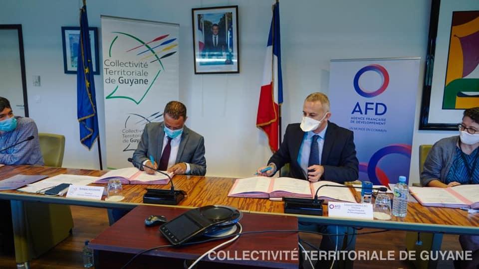 Guyane : L'AFD octroie un prêt de 33,5 millions d'euros à la CTG