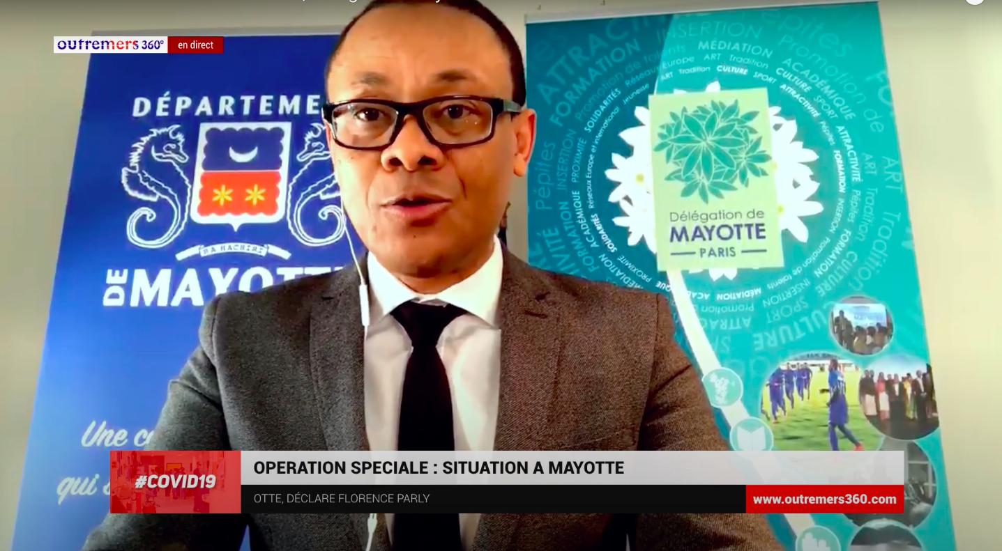 Déconfinement – Mayotte : Mohamed Zoubert : « Une centaine d'associations très actives » pour aider les Mahorais dans l'Hexagone