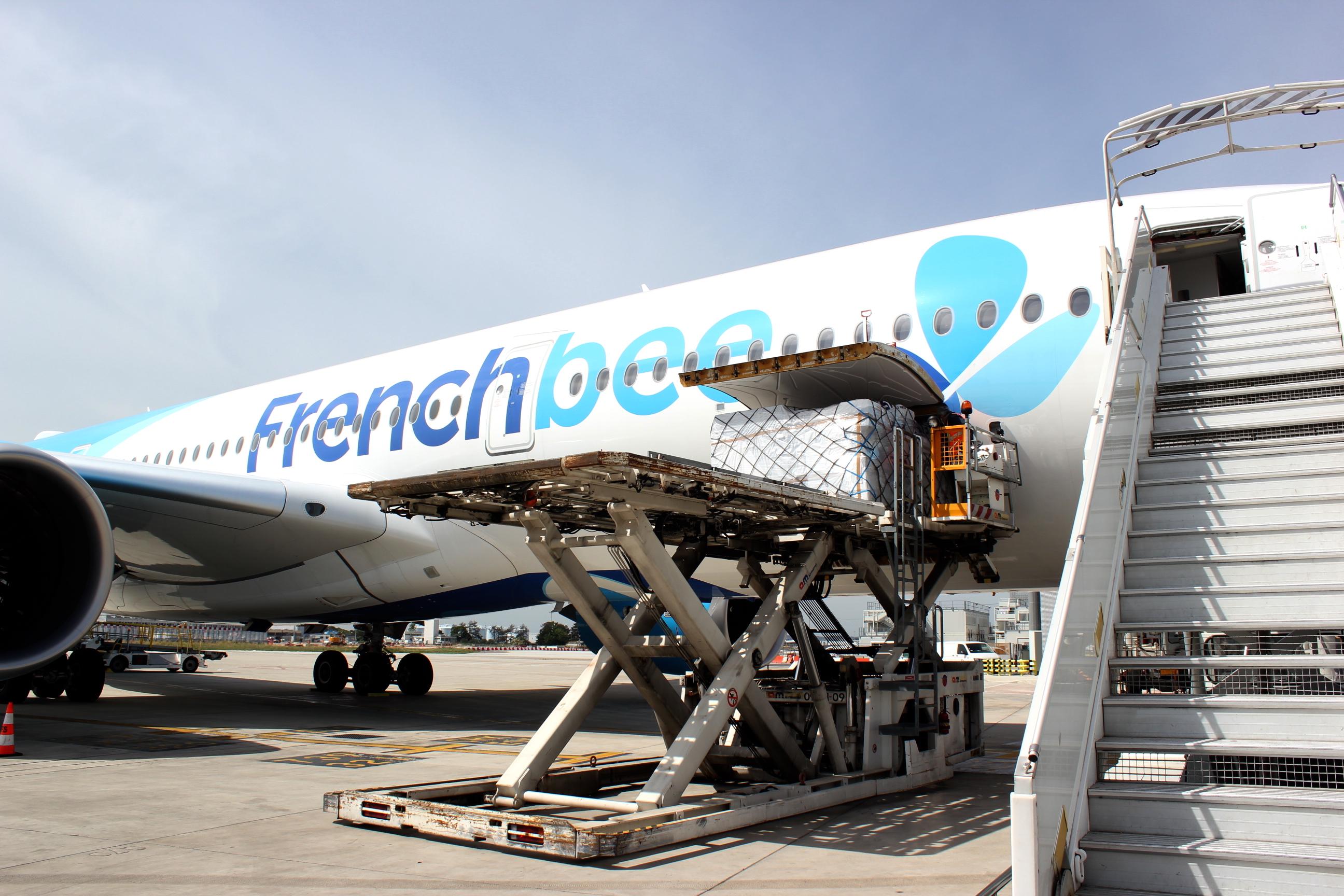 French Bee achemine 20 tonnes de fret médical vers la Polynésie pour le compte du groupe SIFA