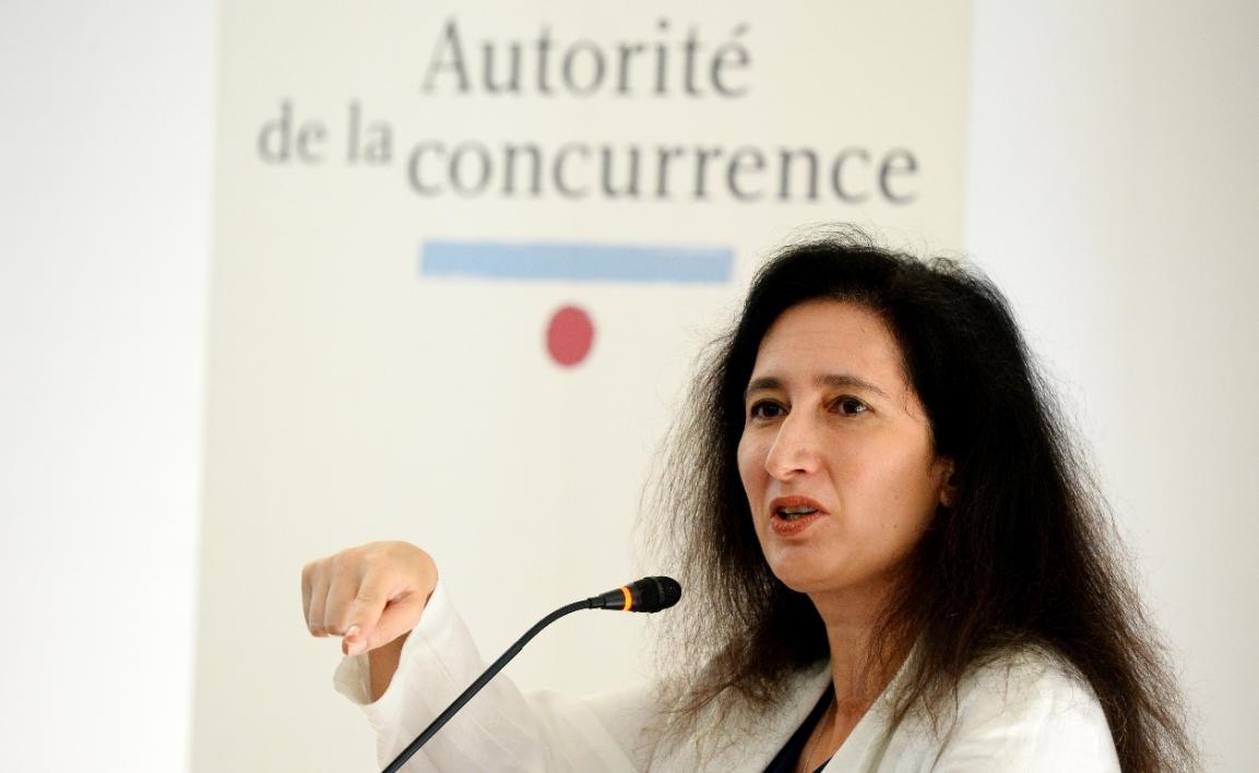 Isabelle De Silva, présidente de l'Autorité de la concurrence ©Eric Piémont / AFP