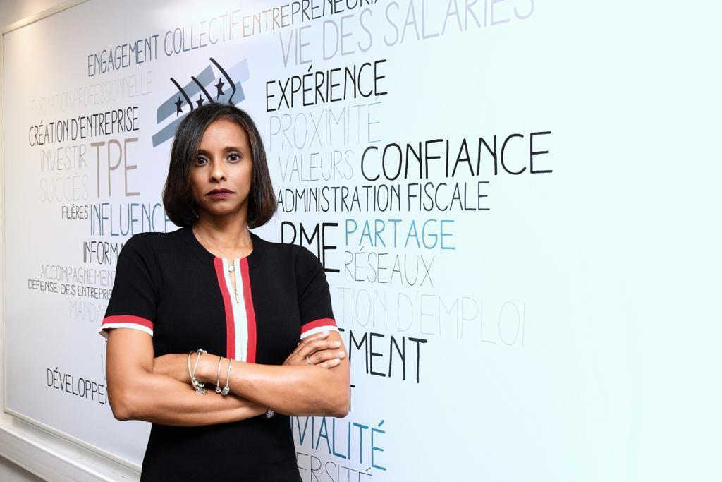 Thara Govindin, Présidente du Medef Guyane © DR