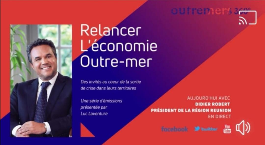 Relancer l'économie d'Outre-mer : Didier Robert va « injecter 20 millions d'euros supplémentaires » pour les communes réunionnaises