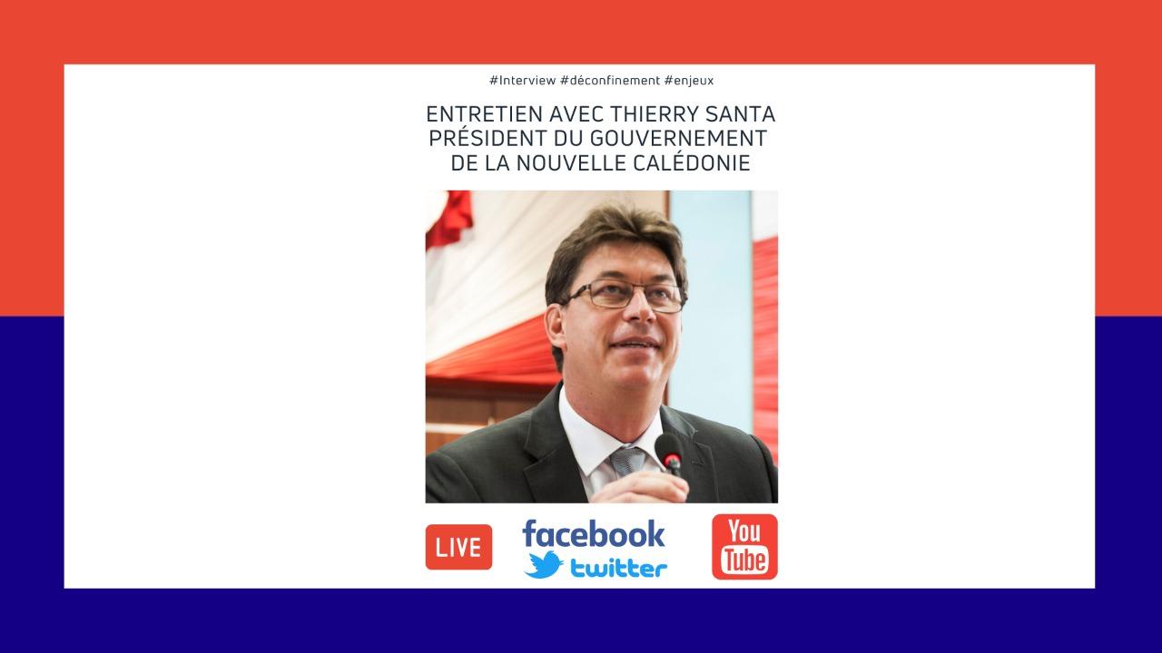 « Nous sommes capables d'avoir une démarche unitaire en Nouvelle-Calédonie », assure Thierry Santa, président du gouvernement calédonien