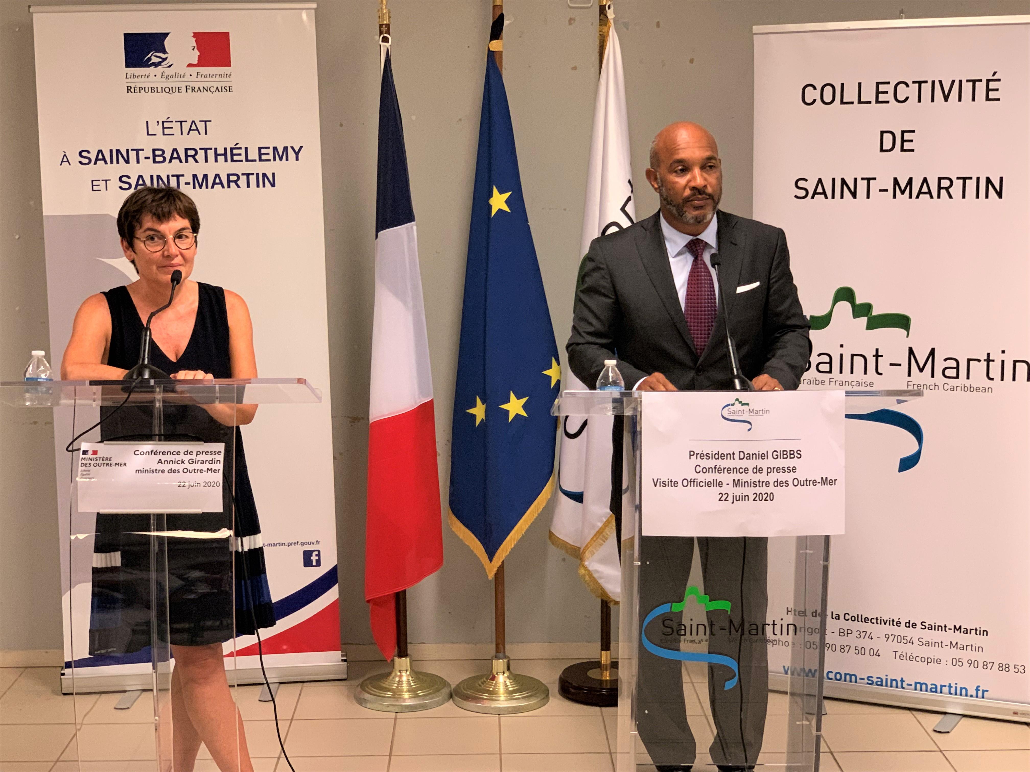 Saint-Martin : Annick Girardin a validé les conclusions de la mission Lacroix sur la révision du PPRN