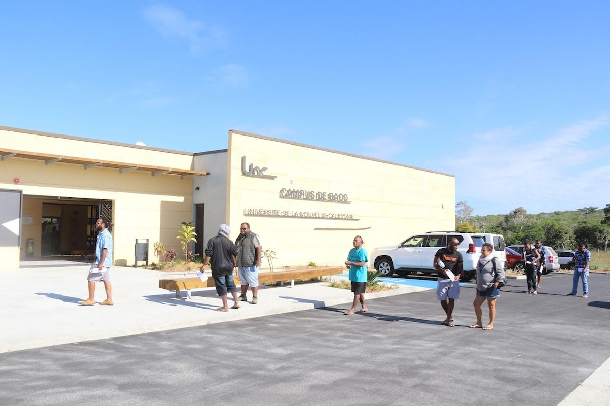 Inauguration de la nouvelle Université de Koné en Nouvelle-Calédonie