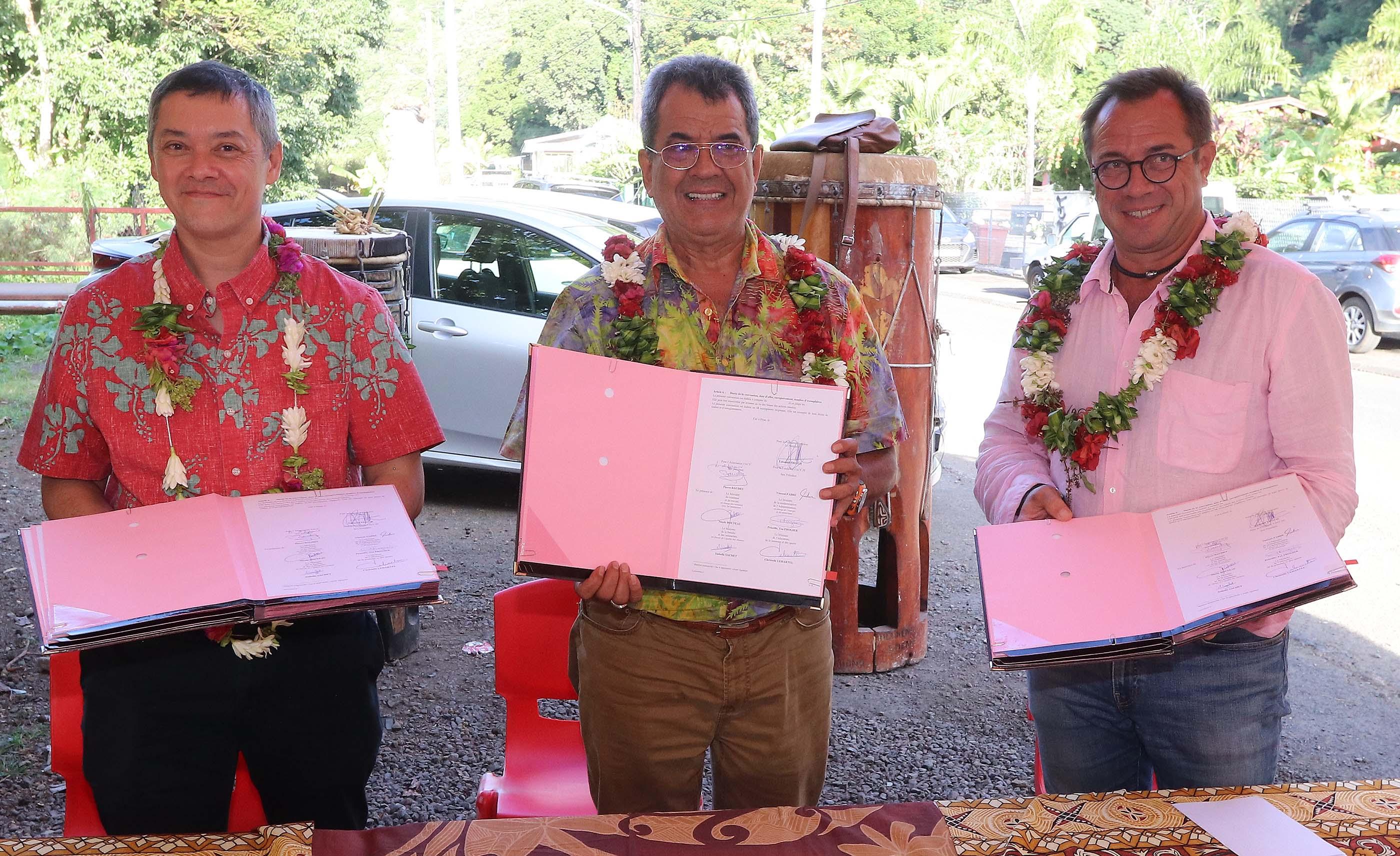 Polynésie: Le Pays et la Fondation Agir signent une convention pour lutter contre l'exclusion