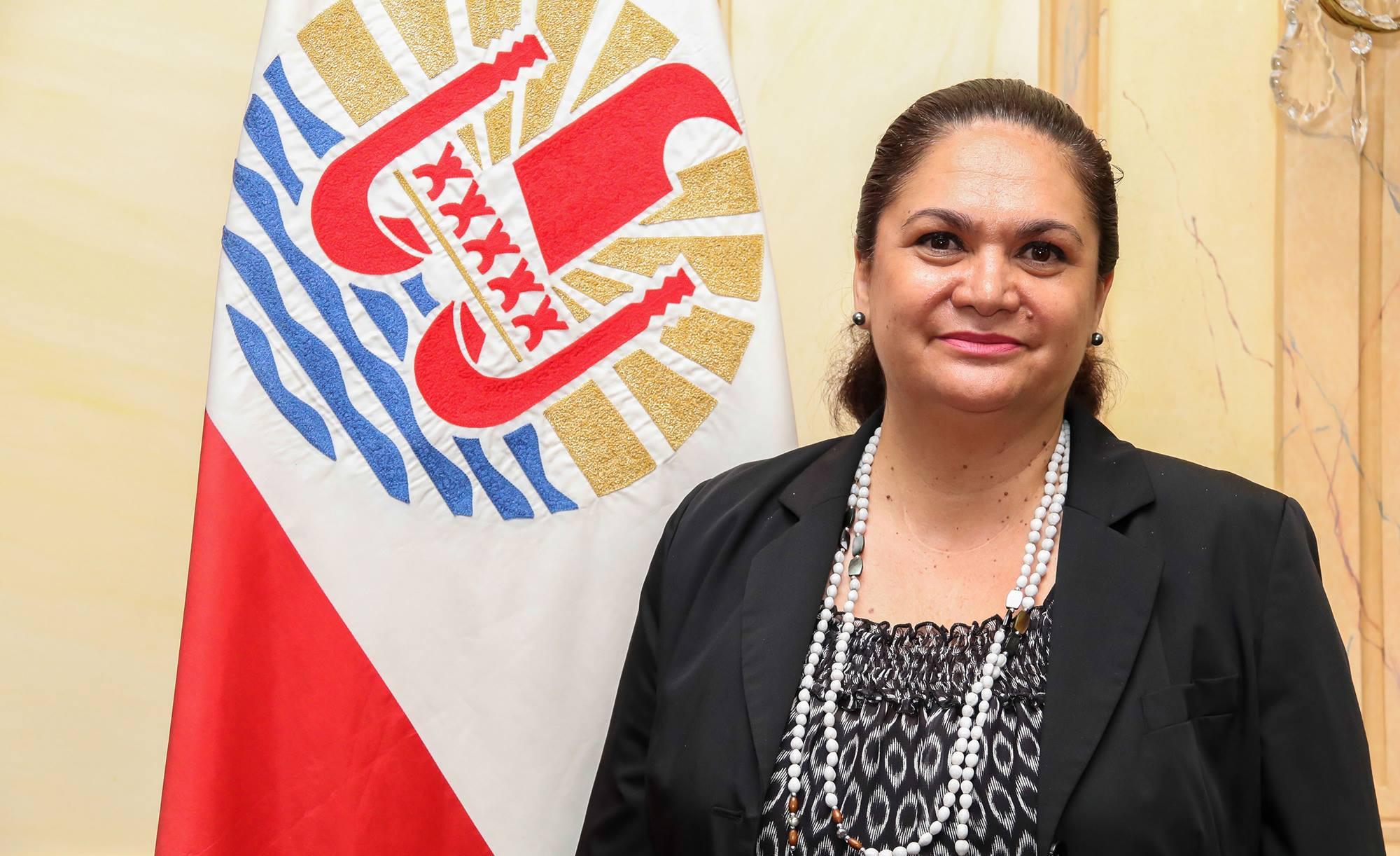 La ministre du Tourisme en Polynésie Nicole Bouteau nouvelle présidente de l'ACCD'OM
