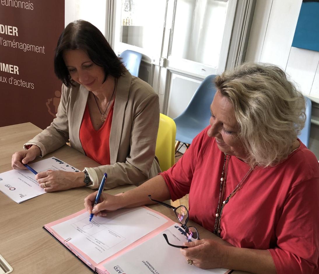 L'AFD Réunion-TAAF et l'Agorah signent une convention Trajectoire Outre-mer 5.0 sur la mobilité durable et l'emploi