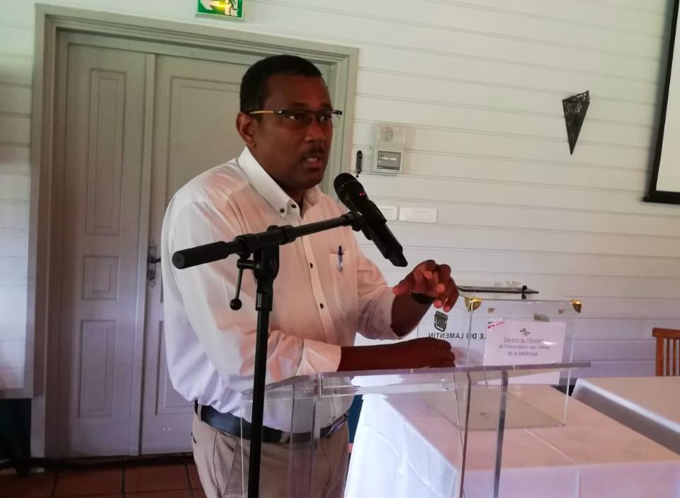 Martinique : Justin Pamphile nouveau président de L'Association des Maires de Martinique