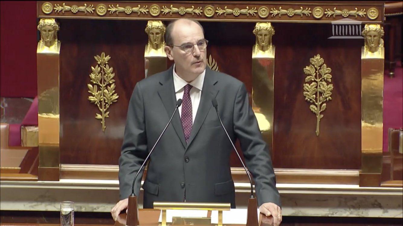 Discours de politique générale : Le Premier ministre Castex annonce une loi organique sur le « droit à la différenciation »