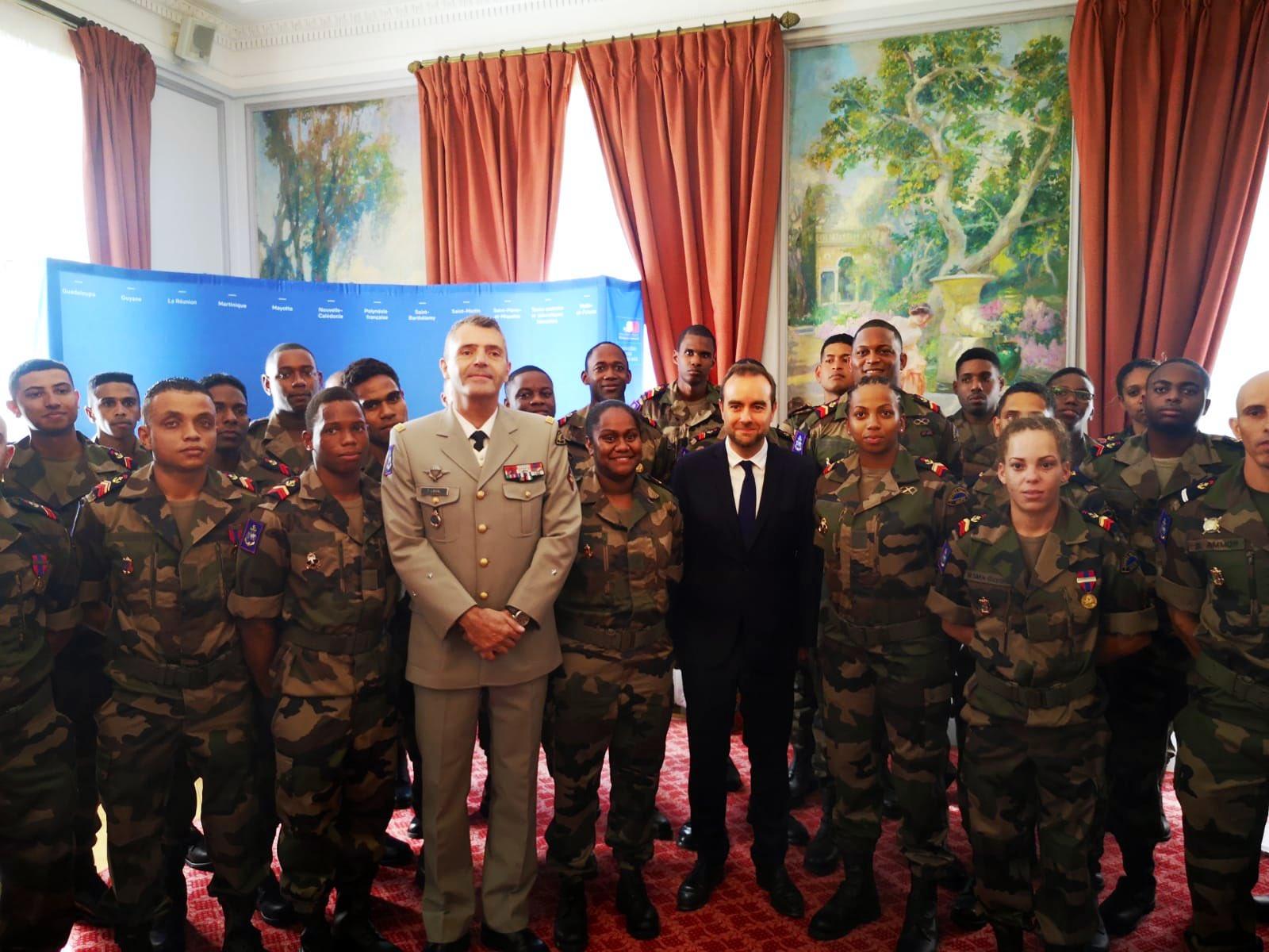 14 juillet : Les jeunes des régiments SMA d'Outre-mer mis à l'honneur pour la Fête nationale