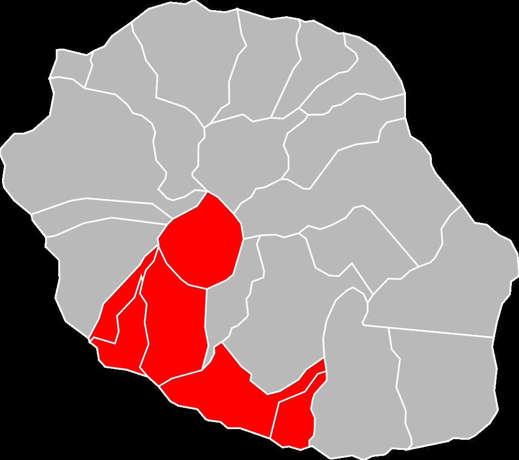 Localisation_CA_Intercommunale_des_Villes_Solidaires_à_La_Réunion