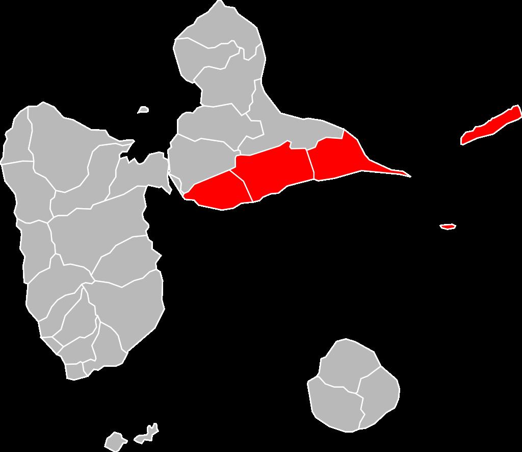 Localisation_CA_La_Riviéra_du_Levant_en_Guadeloupe