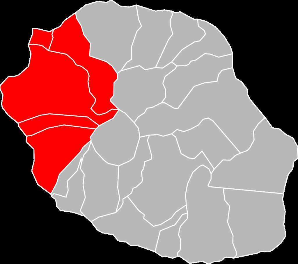 Localisation_CA_Territoire_de_la_Côte_Ouest_à_La_Réunion