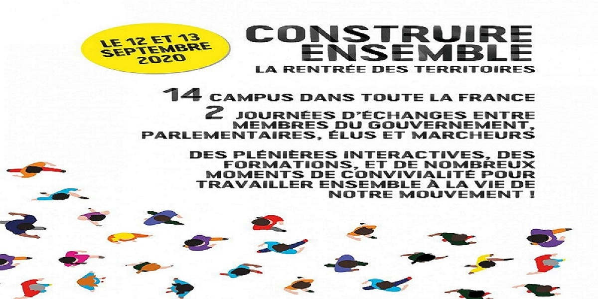 « Construire ensemble, la rentrée des territoires », LREM inclut des campus également dans les Outre-mer