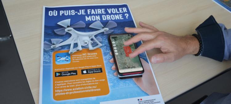 Nouvelle-Calédonie : Une application à destination des utilisateurs de drone pour aider au contrôle du ciel