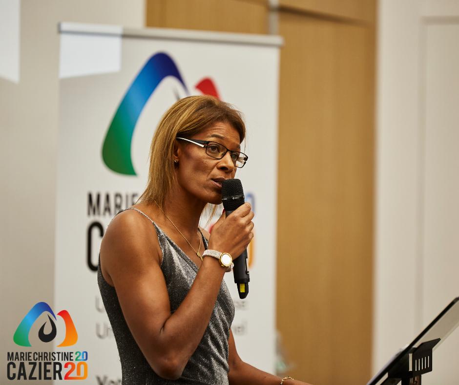 Sports : L'ex-athlète martiniquaise Marie-Christine Cazier brigue la présidence de la Fédération française d'athlétisme
