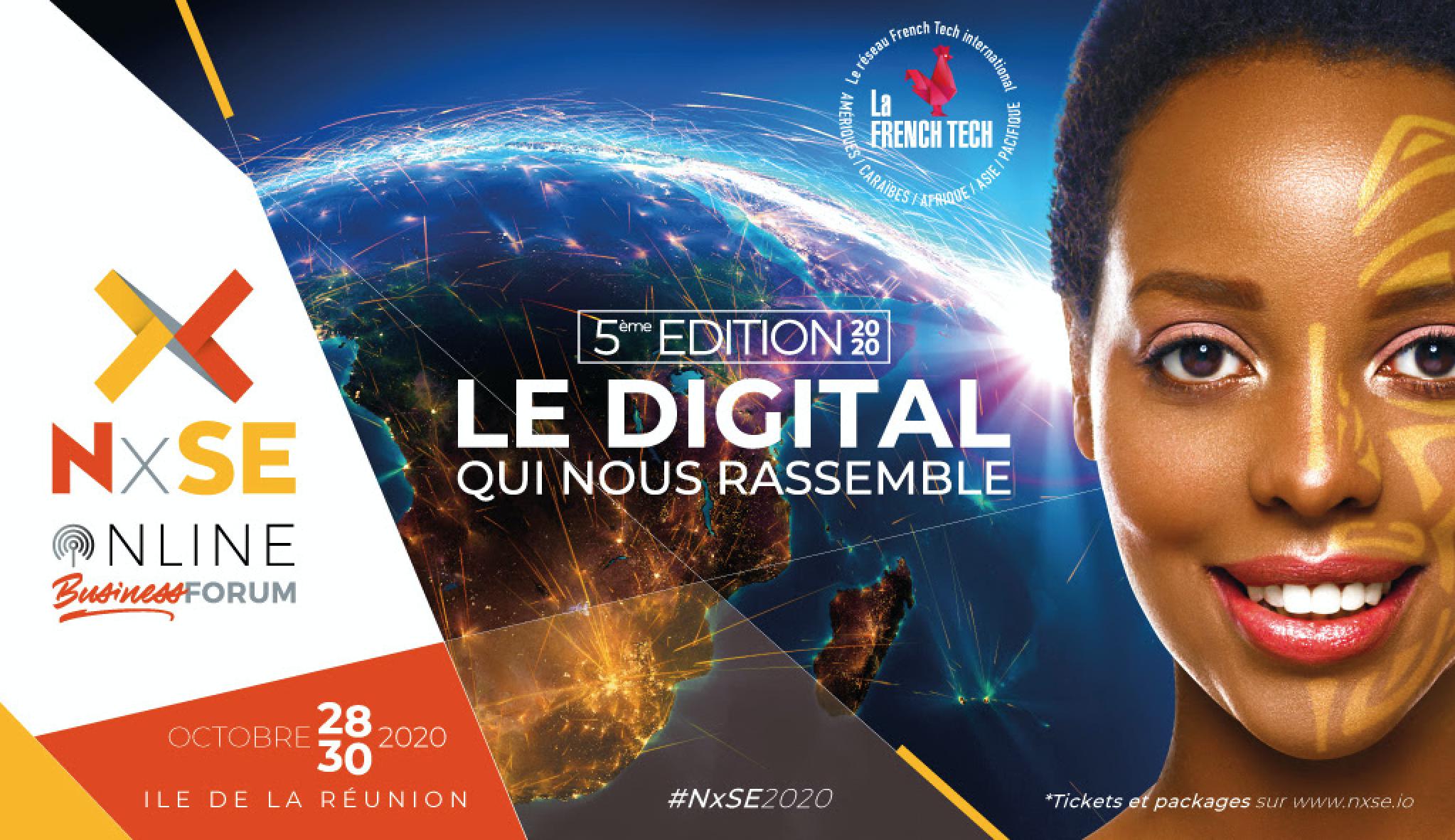 Forum NxSE 2020: Une 5ème édition internationale totalement digitale