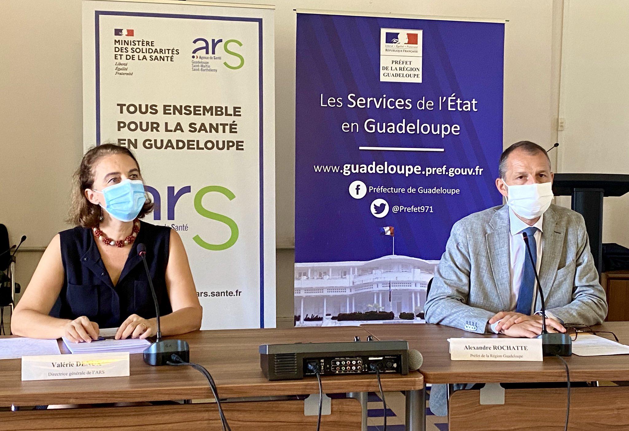 Coronavirus : En Guadeloupe, 50 cas supplémentaires depuis lundi et le port du masque recommandé partout