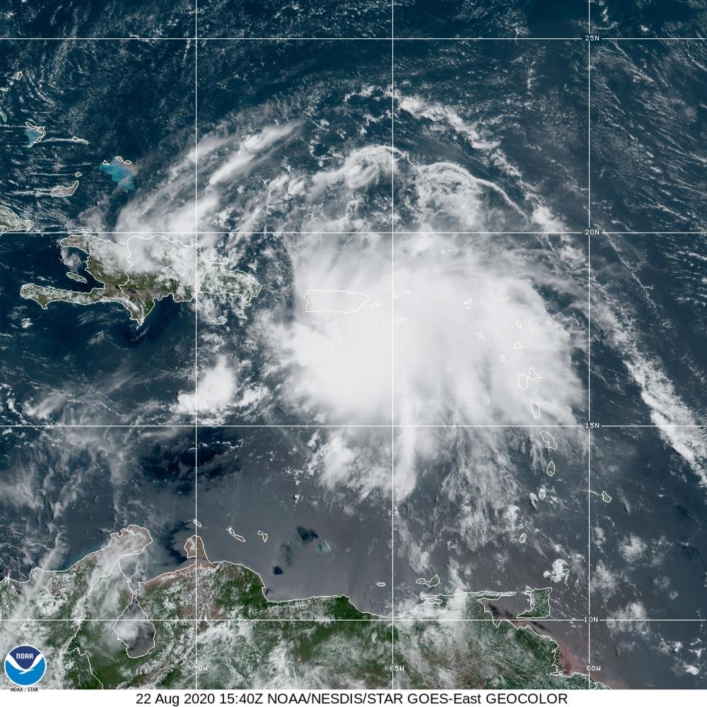 La tempête Laura fait une première victime en Haïti