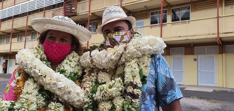 Sénatoriales 2020 : En Polynésie, le duo Lana Tetuanui – Teva Rohfritsch élu haut la main