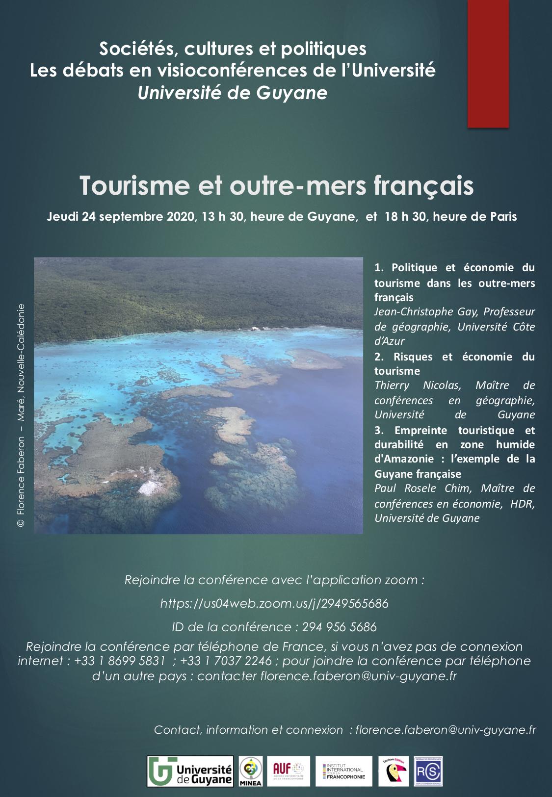 20200924 - Tourisme et outre-mers français - cycle de conférences