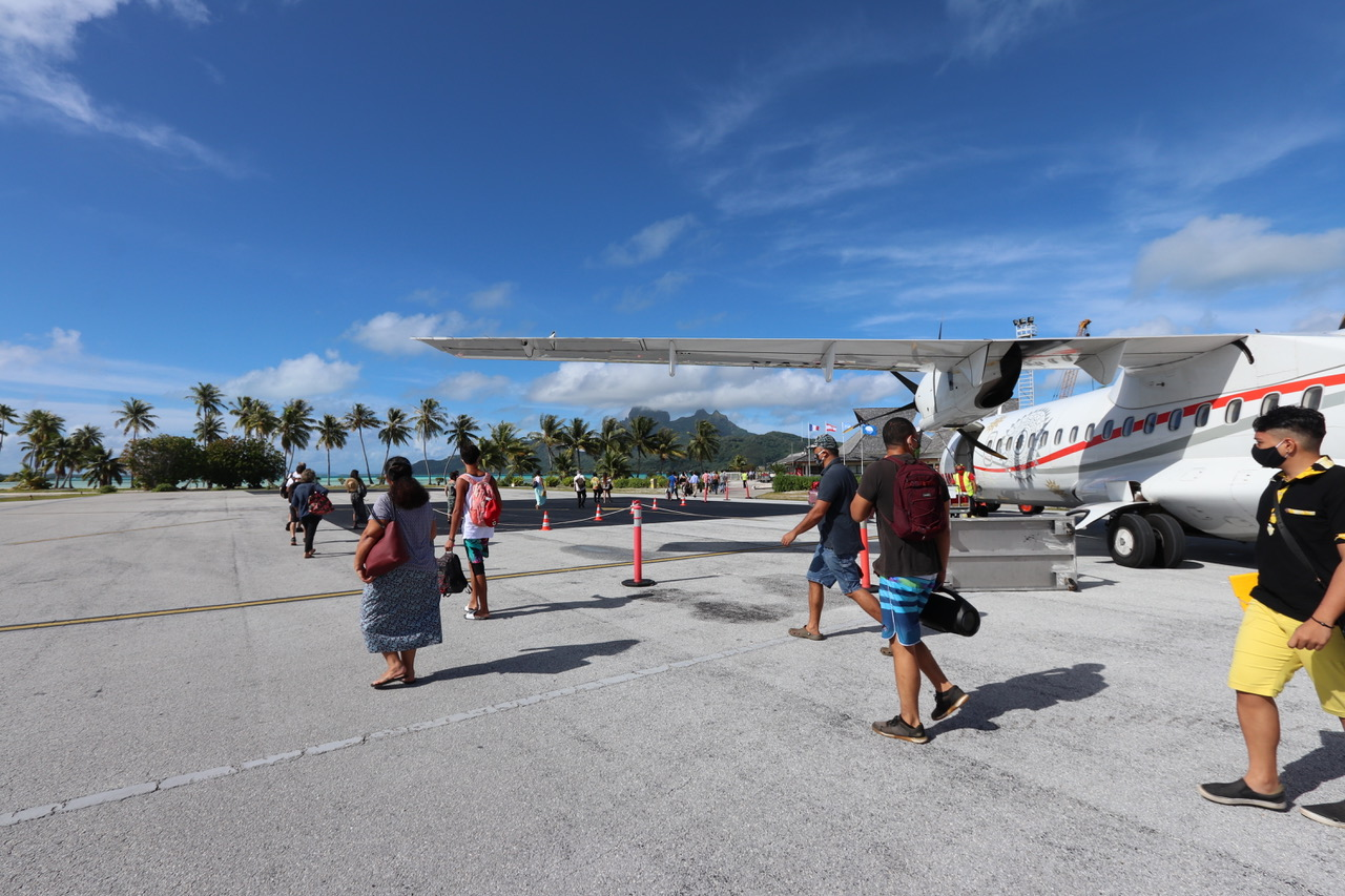 Polynésie française: L'État et le Pays signent une convention relative au transfert des aérodromes de Bora Bora, Raiatea et Rangiroa à la Polynésie française