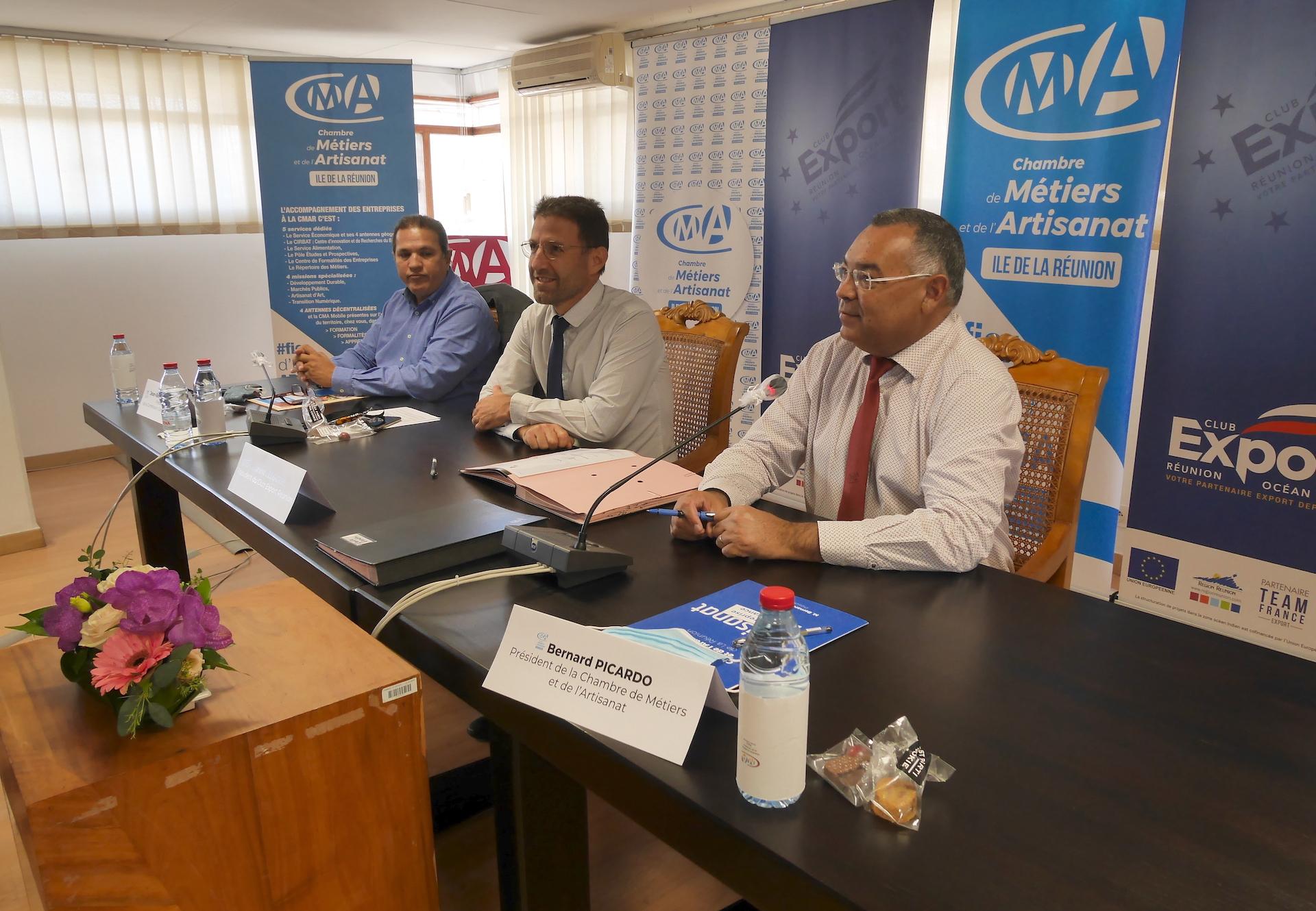 La Réunion : Un partenariat CMAR-CER pour favoriser l'export des artisans réunionnais