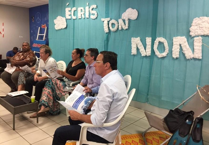 Nouvelle-Calédonie : Le groupe Calédonie Ensemble défend sa vision du NON à l'indépendance
