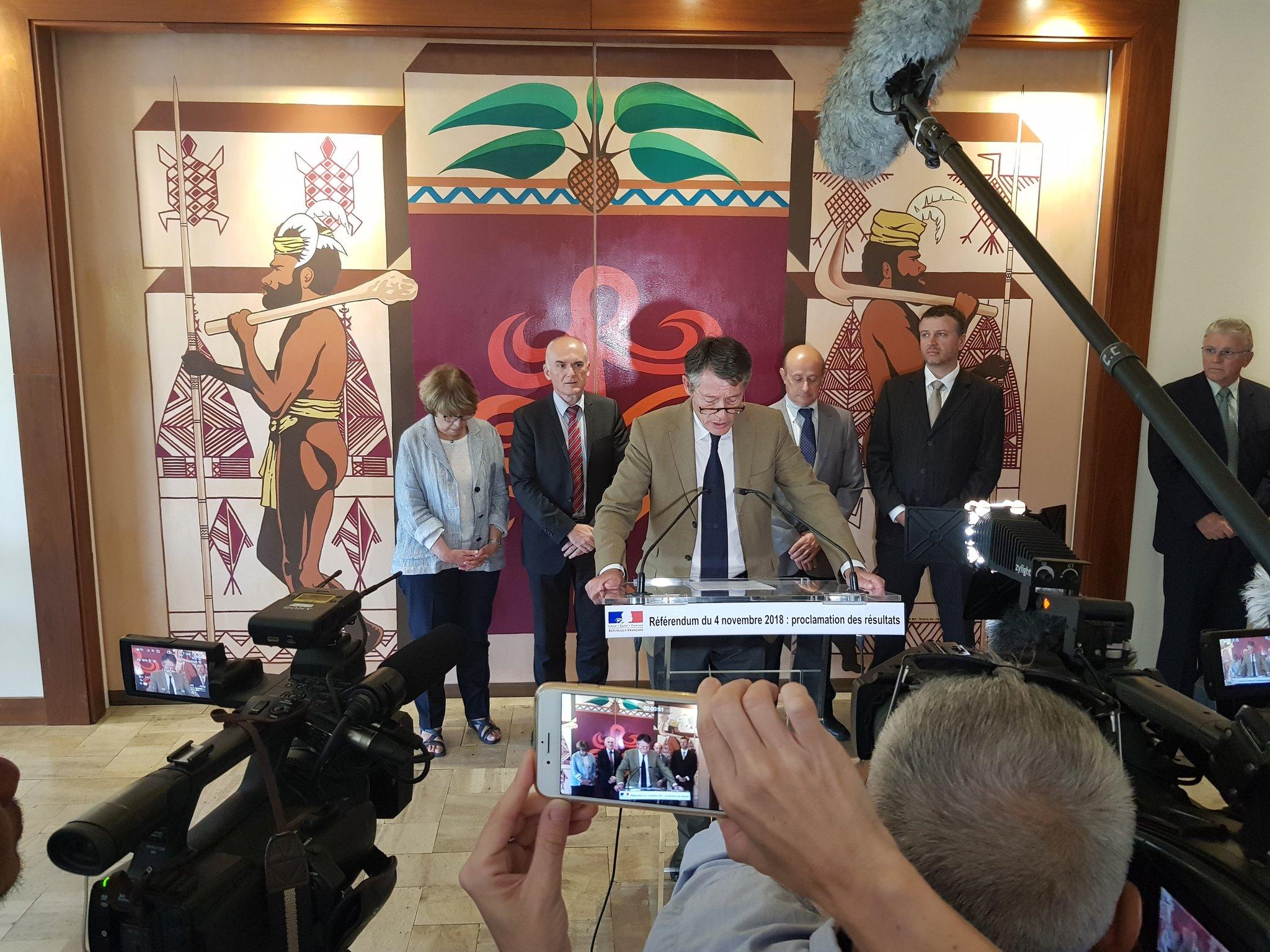 Référendum en Nouvelle-Calédonie : Le président de la commission de contrôle confiant pour le 4 octobre