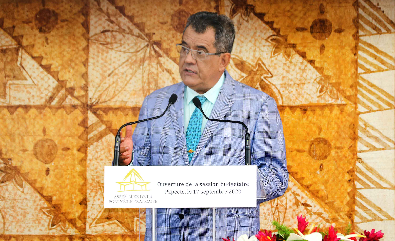 Polynésie : Le président Édouard Fritch présente son nouveau gouvernement