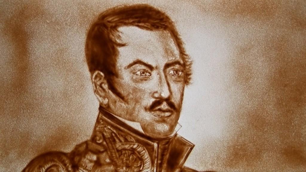 Portrait de l'Amiral Bellingshausen © DR